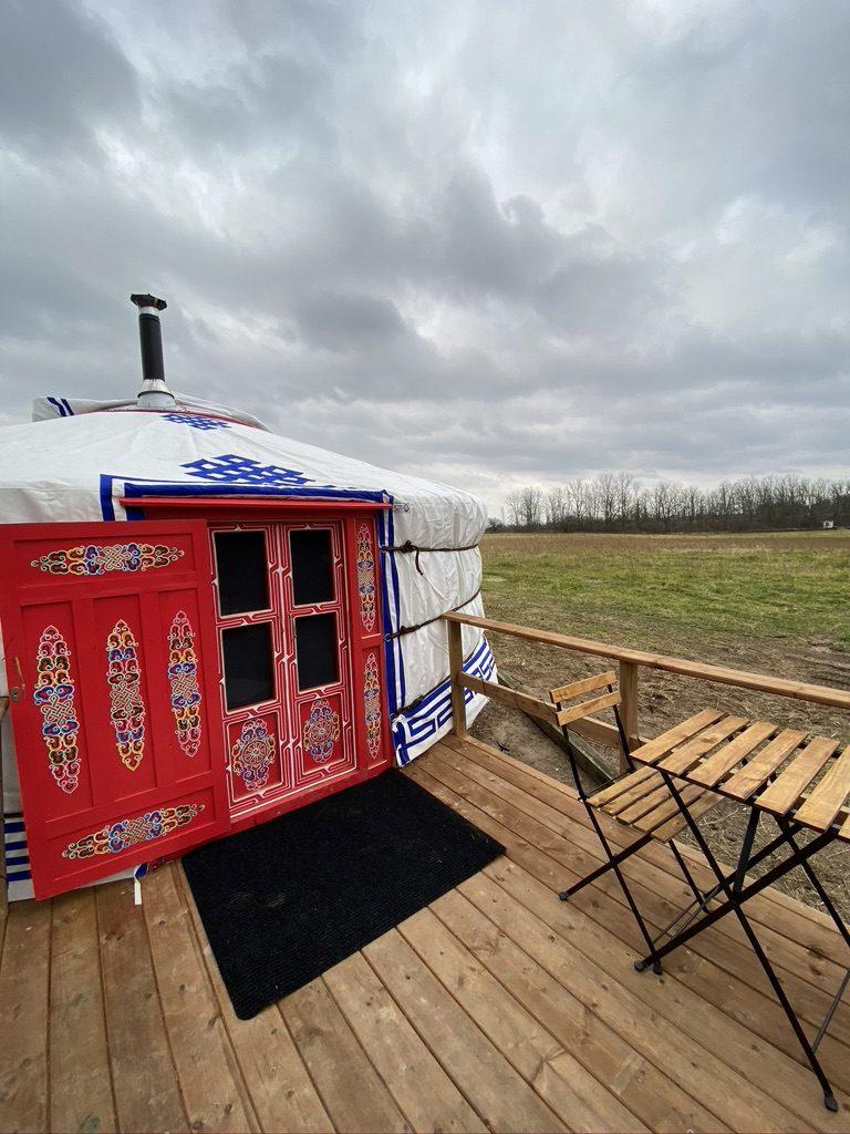 Kandy yurt